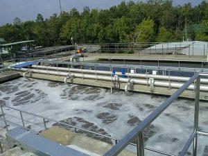 Máy bơm chìm xử lí nước thải